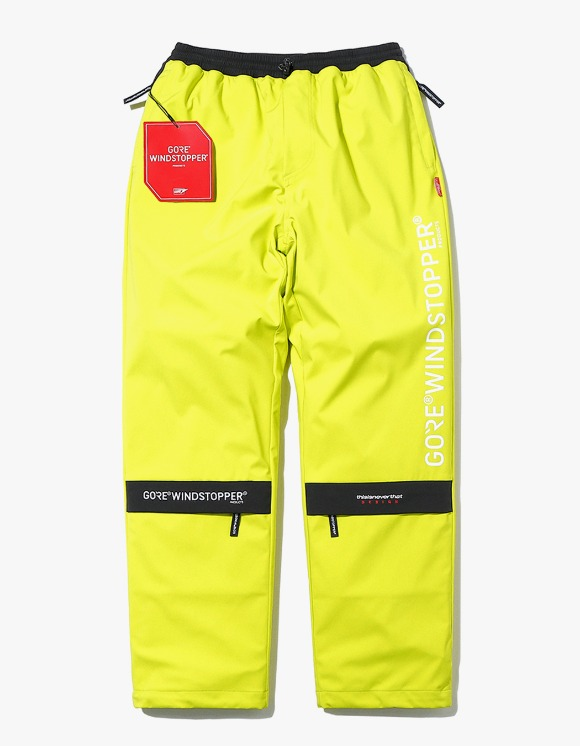 thisisneverthat GORE® WINDSTOPPER® CITY Pant - Lime | HEIGHTS. | 하이츠 온라인 스토어