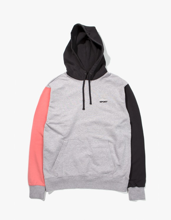 Stussy Stussy Sport Hoodie - Grey Heather | HEIGHTS. | 하이츠 온라인 스토어