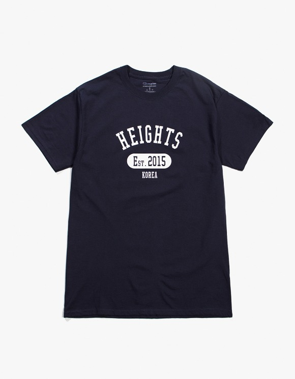 Balansa Heights. Since T-Shirt - Navy | HEIGHTS. | 하이츠 온라인 스토어