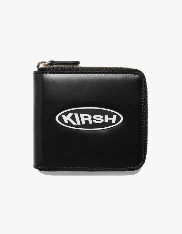 KIRSH KIRSH POCKET CIRCLE LOGO WALLET IA - BLACK | HEIGHTS. | 하이츠 온라인 스토어