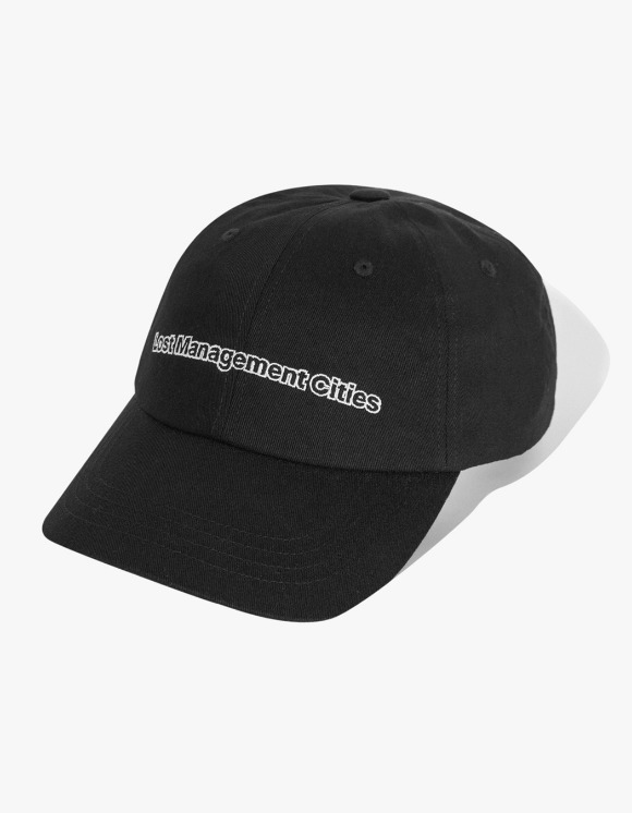 LMC LMC FN OUTLINE 6 PANEL CAP black | HEIGHTS. | 하이츠 온라인 스토어
