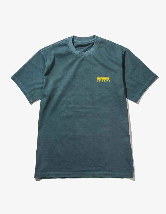 HEIGHTS. UNION T-Shirt - Overdyed Olive | HEIGHTS. | 하이츠 온라인 스토어