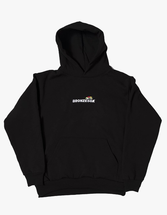 BRONZE56k Embroidered Speed Hoody - Black | HEIGHTS. | 하이츠 온라인 스토어