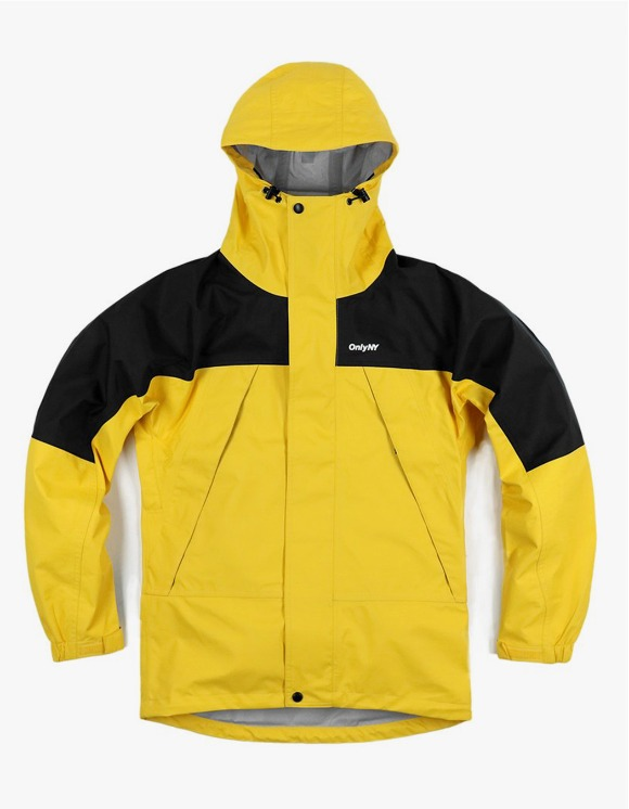 Only NY Waterproof Trail Jacket - Yellow | HEIGHTS. | 하이츠 온라인 스토어