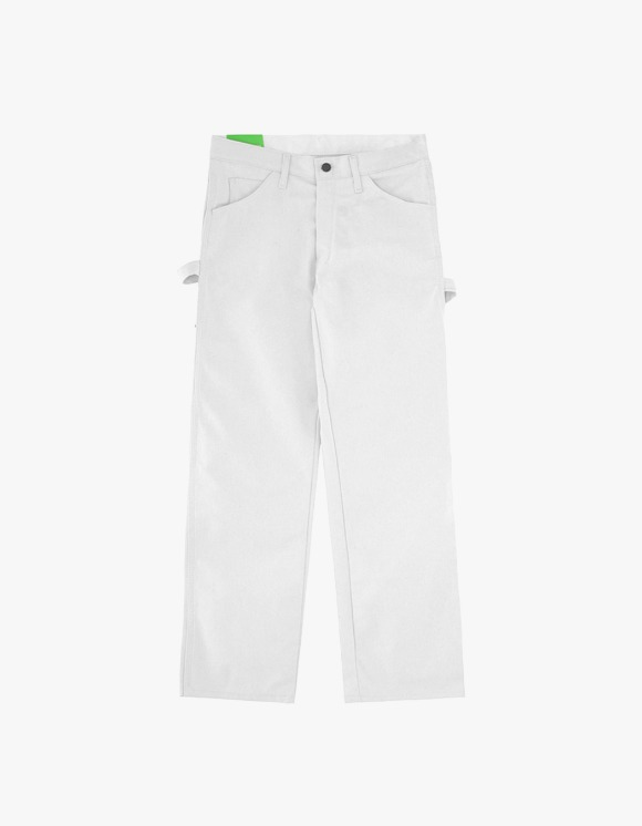 Mister Green Green Bootleg Dickies Pants - White | HEIGHTS. | 하이츠 온라인 스토어