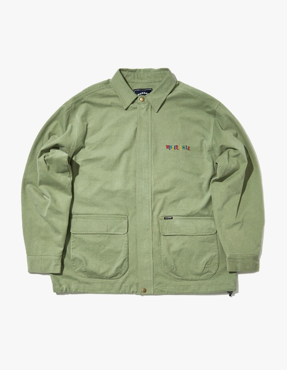 WKNDRS Vintage Cargo Jacket - Khaki | HEIGHTS. | 하이츠 온라인 스토어
