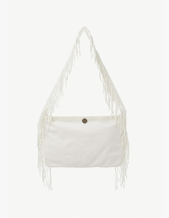 s/e/o Cotton Fringe Bag - White | HEIGHTS. | 하이츠 온라인 스토어