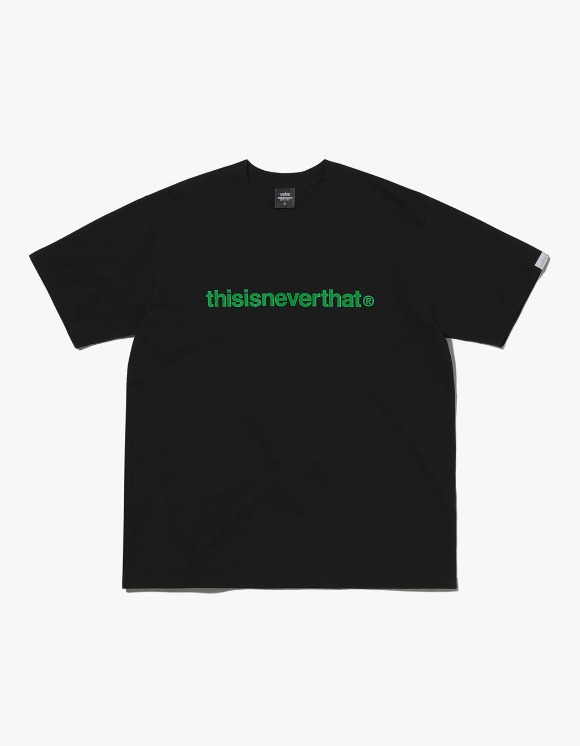thisisneverthat PKM T-Logo Tee - Black/Green | HEIGHTS. | 하이츠 온라인 스토어