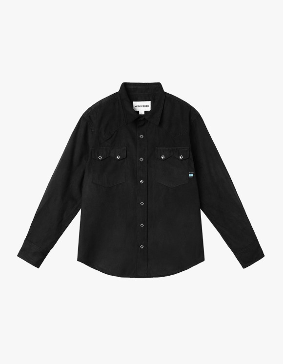 yeseyesee Y.E.S Suade Shirts - Black | HEIGHTS. | 하이츠 온라인 스토어