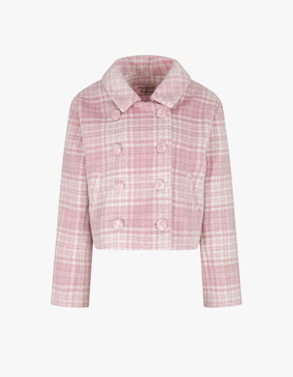 Margarin Fingers Berry Double Jacket - Pink | HEIGHTS. | 하이츠 온라인 스토어