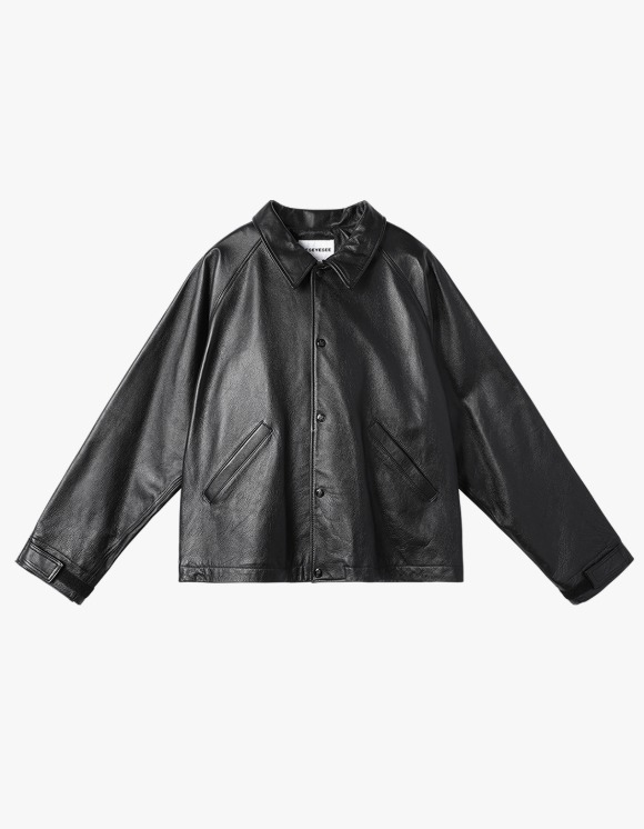 yeseyesee Y.E.S Leather Jacket - Black | HEIGHTS. | 하이츠 온라인 스토어