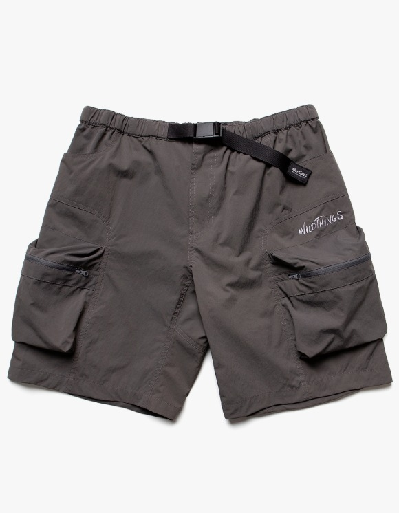 Wild Things Camp Cargo Shorts - Charcoal | HEIGHTS. | 하이츠 온라인 스토어