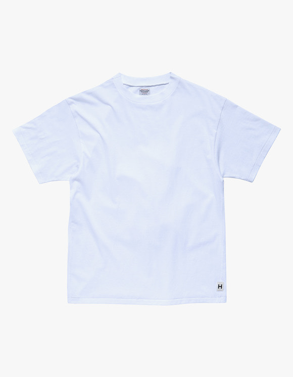 Heritage Floss American Cotton Single T-Shirt - White | HEIGHTS. | 하이츠 온라인 스토어