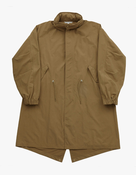 Heritage Floss Windshield Fishtail  II - Khaki | HEIGHTS. | 하이츠 온라인 스토어