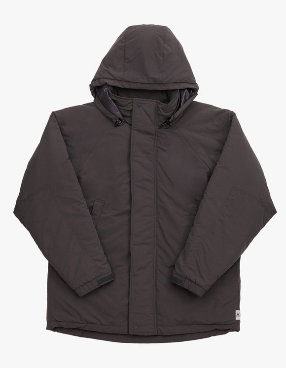 Heritage Floss Cold Parka - Charcoal | HEIGHTS. | 하이츠 온라인 스토어