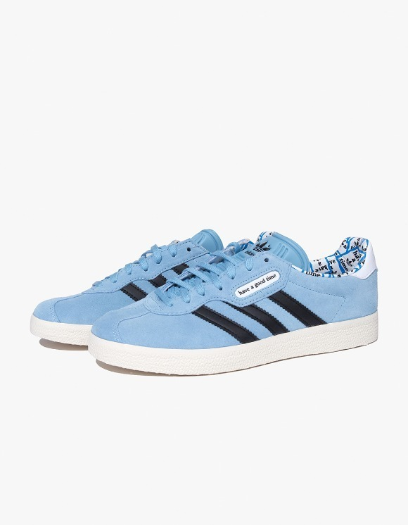 have a good time HAGT x ADIDAS Gazelle Super - Blue | HEIGHTS. | 하이츠 온라인 스토어