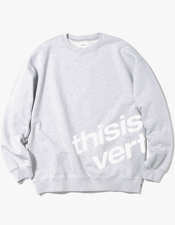 thisisneverthat DIA-SP Crewneck - Grey | HEIGHTS. | 하이츠 온라인 스토어