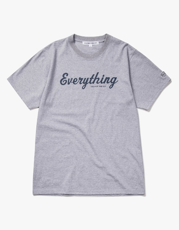 IZOLA NYC Everything S/S Tee - Heather Grey | HEIGHTS. | 하이츠 온라인 스토어