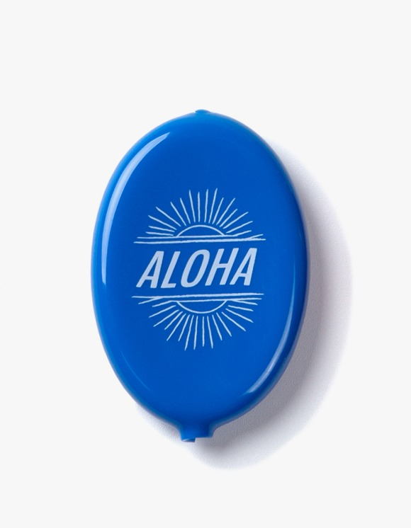 IZOLA NYC Aloha Coin Wallet - Blue | HEIGHTS. | 하이츠 온라인 스토어