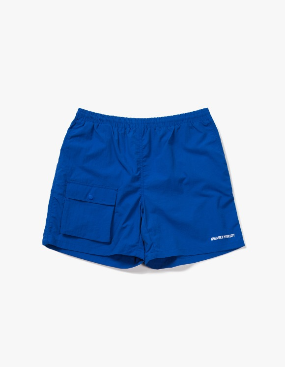 IZOLA NYC Pocket Swim Shorts - Blue | HEIGHTS. | 하이츠 온라인 스토어