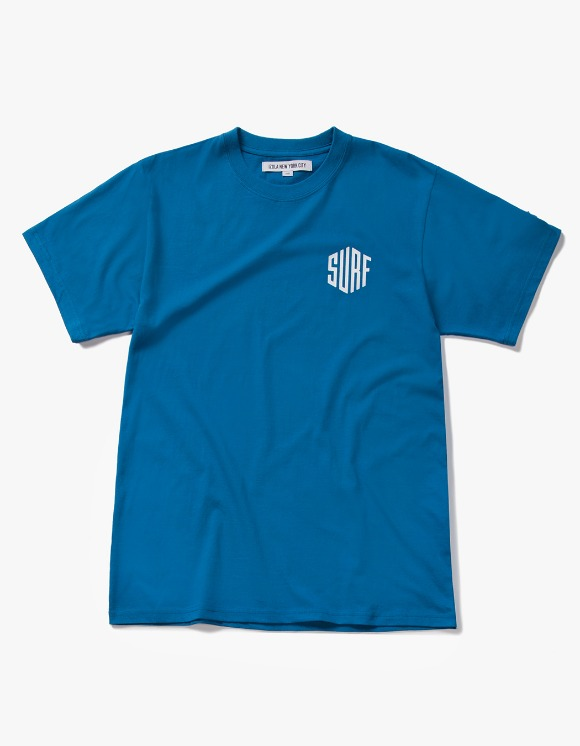 IZOLA NYC Surf S/S Tee - Deep Blue | HEIGHTS. | 하이츠 온라인 스토어