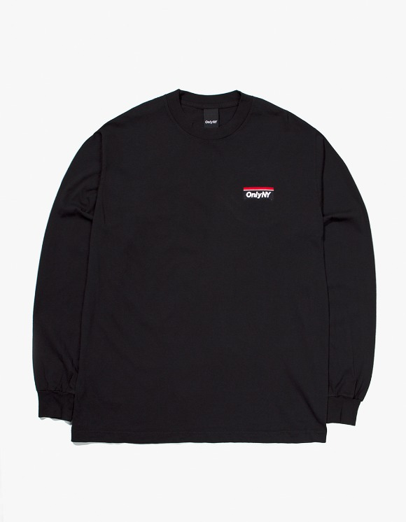 Only NY Subway Logo L/S T-Shirt - Black | HEIGHTS. | 하이츠 온라인 스토어