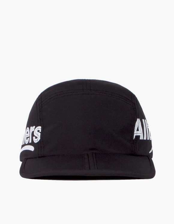 Alltimers Estate Side Logo Foldable Hat - Black | HEIGHTS. | 하이츠 온라인 스토어