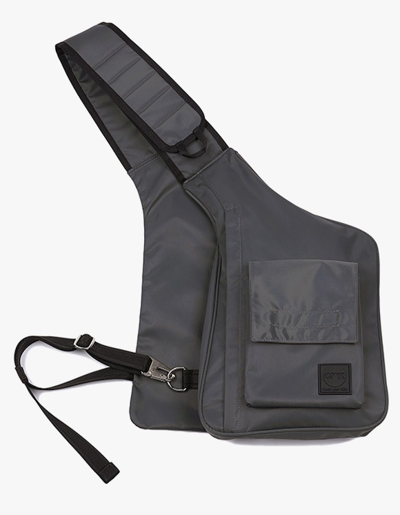 Cost Per Kilo Cross Body Bag - Charcoal | HEIGHTS. | 하이츠 온라인 스토어