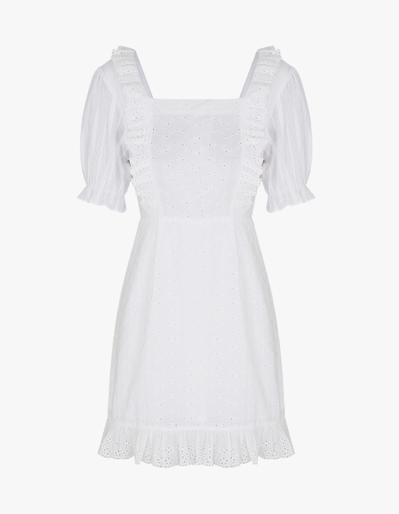 Margarin Fingers Broderie Anglaise One Piece - White | HEIGHTS. | 하이츠 온라인 스토어