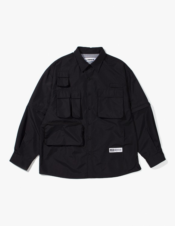 Lores Utility Shirts - Black | HEIGHTS. | 하이츠 온라인 스토어