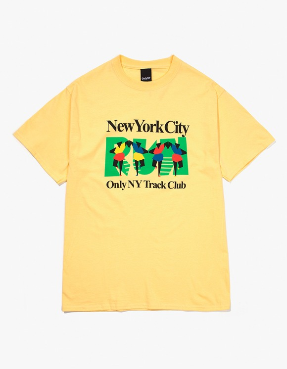 Only NY Track Club T-Shirt - Squash | HEIGHTS. | 하이츠 온라인 스토어