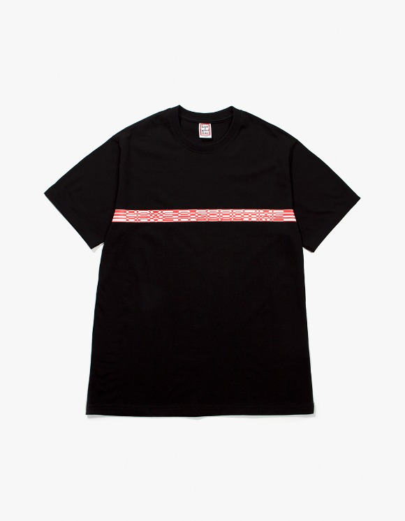 have a good time Border S/S Tee - Black | HEIGHTS. | 하이츠 온라인 스토어