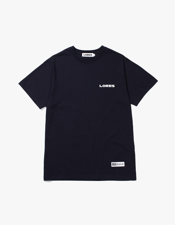 Lores Logo S/S T-shirts - Navy | HEIGHTS. | 하이츠 온라인 스토어