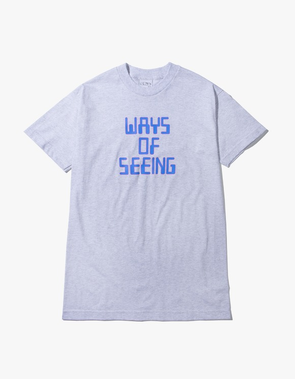 SNEEZE Magazine Ways of Seeing Tee - Ash | HEIGHTS. | 하이츠 온라인 스토어