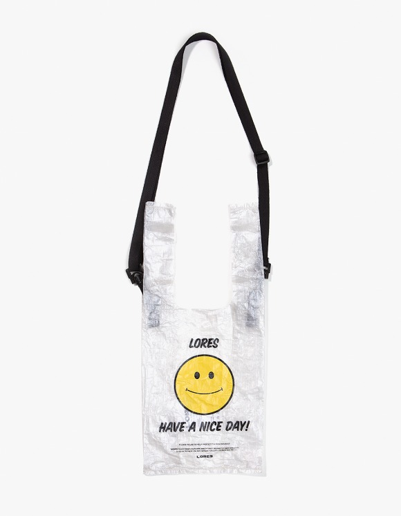 Lores Dyneema Shoulder Small Bag - Smile | HEIGHTS. | 하이츠 온라인 스토어