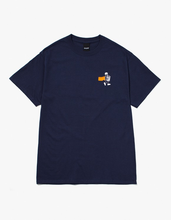 Only NY 1 Hour Photo S/S tee - Navy | HEIGHTS. | 하이츠 온라인 스토어