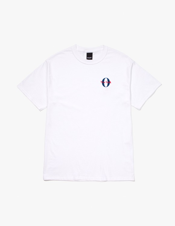 Only NY West Side T-Shirt - White | HEIGHTS. | 하이츠 온라인 스토어