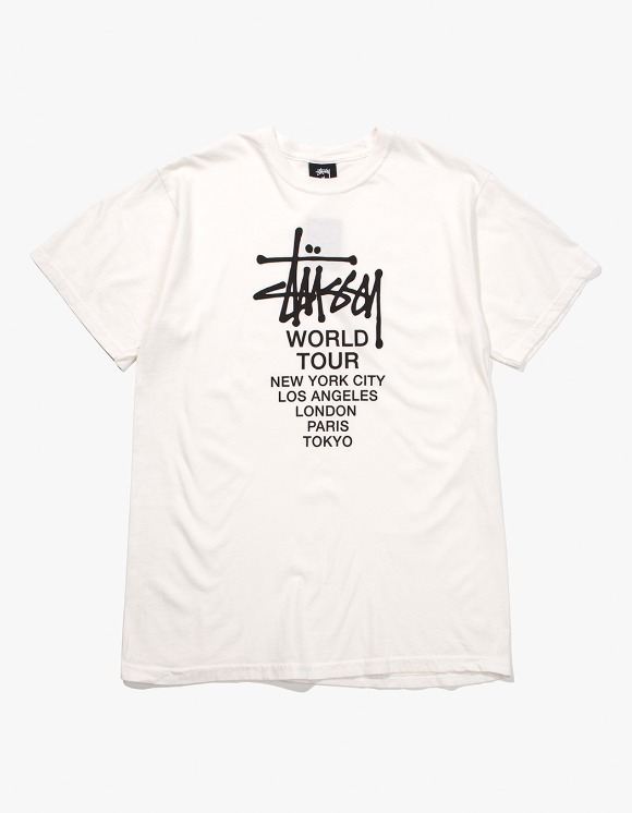 Stussy Tour Pig. Dyed Tee - Natural | HEIGHTS. | 하이츠 온라인 스토어