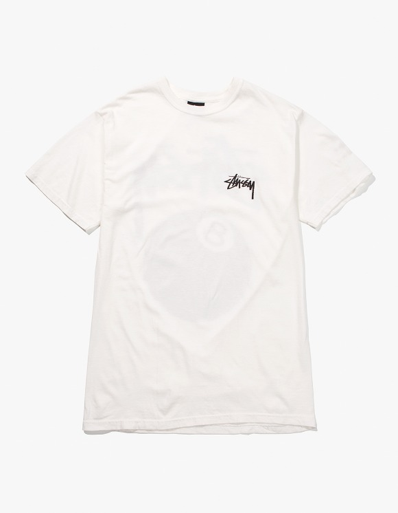 Stussy 8 Ball Pig.Dyed Tee - Natural | HEIGHTS. | 하이츠 온라인 스토어
