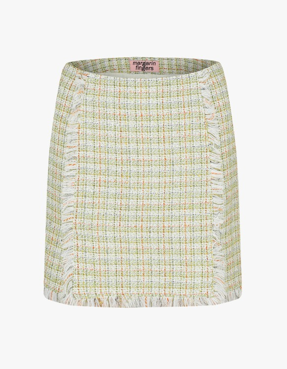 Margarin Fingers Tweed Mini Skirt - Green | HEIGHTS. | 하이츠 온라인 스토어