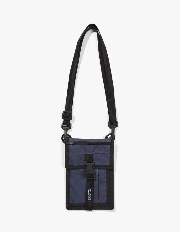 Stussy SideKick Crossboy Pouch - Navy | HEIGHTS. | 하이츠 온라인 스토어