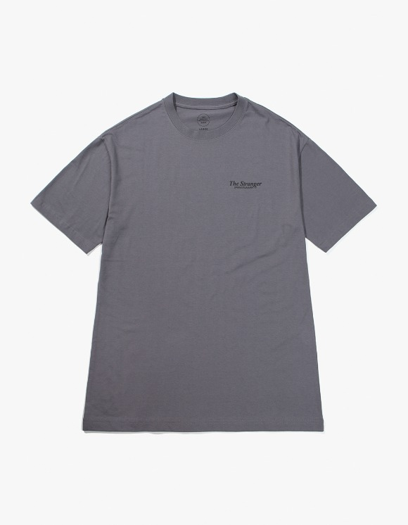 Beasts And Natives Alike The Stranger T-shirts - Dark Grey | HEIGHTS. | 하이츠 온라인 스토어