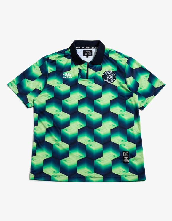NIVELCRACK NIVELCRACK X UMBRO Jersey - Green | HEIGHTS. | 하이츠 온라인 스토어