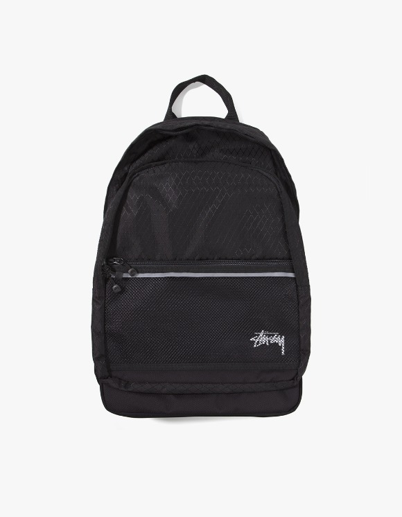 Stussy Diamond Ripstop Backpack - Black | HEIGHTS. | 하이츠 온라인 스토어