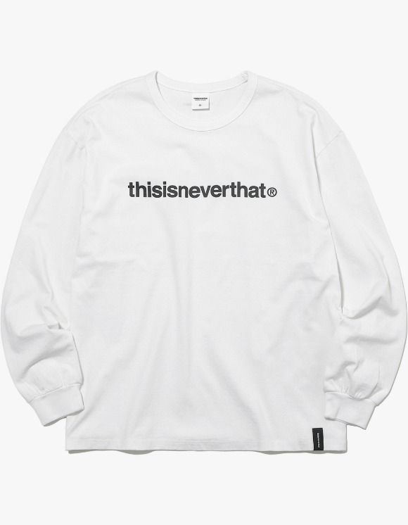 thisisneverthat T-Logo L/SL Top - White | HEIGHTS. | 하이츠 온라인 스토어