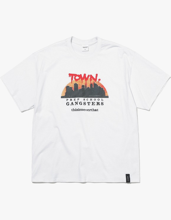 thisisneverthat TOWN Tee - White | HEIGHTS. | 하이츠 온라인 스토어