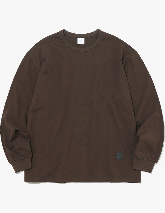 thisisneverthat Rubber C-Logo L/SL Top -  Brown | HEIGHTS. | 하이츠 온라인 스토어