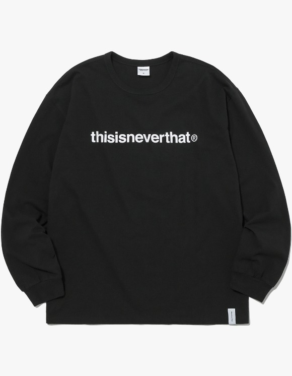 thisisneverthat T-Logo L/SL Top - Black | HEIGHTS. | 하이츠 온라인 스토어