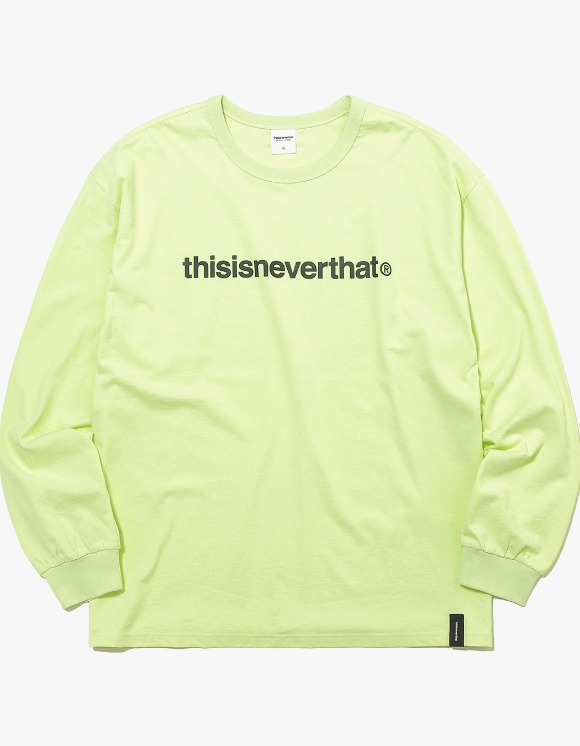 thisisneverthat T-Logo L/SL Top - Lemon | HEIGHTS. | 하이츠 온라인 스토어