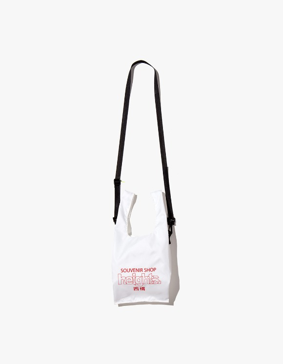 HEIGHTS. Heights. Logo Shoulder Bag - White | HEIGHTS. | 하이츠 온라인 스토어